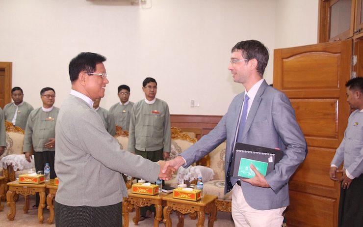 Renaud Egreteau Birmanie